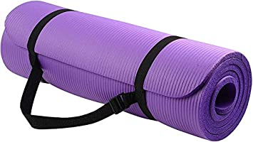 Yoga Mat, LT All-Purpose 1/2-Inch Extra Thick Exercise Yoga Mat, Extra Thick High Density Anti-Tear Exercise Yoga Mat...