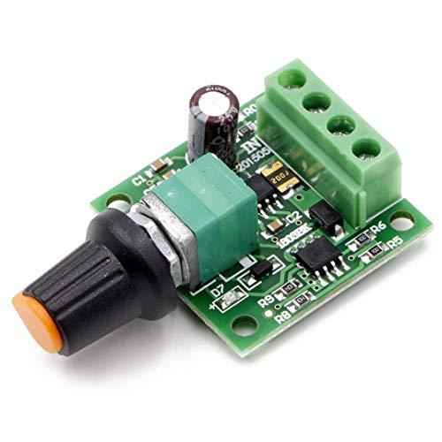 RioRand RR-PWM-15V Low Voltage Dc 1.8v 3v 5v 6v 12v Motor Speed Controller, 2A PWM