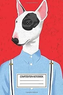 Notebook: Skinhead Bull Terrier , Journal for Writing, Size 6