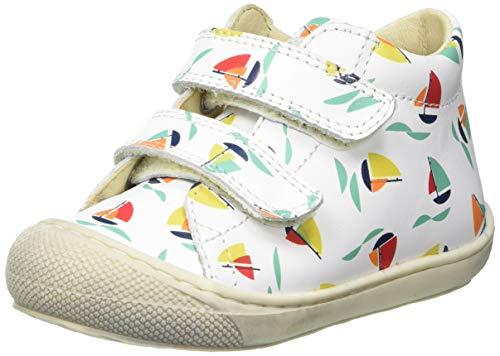 Naturino Baby Jungen Cocoon VL Sneaker, Milk, 26 EU