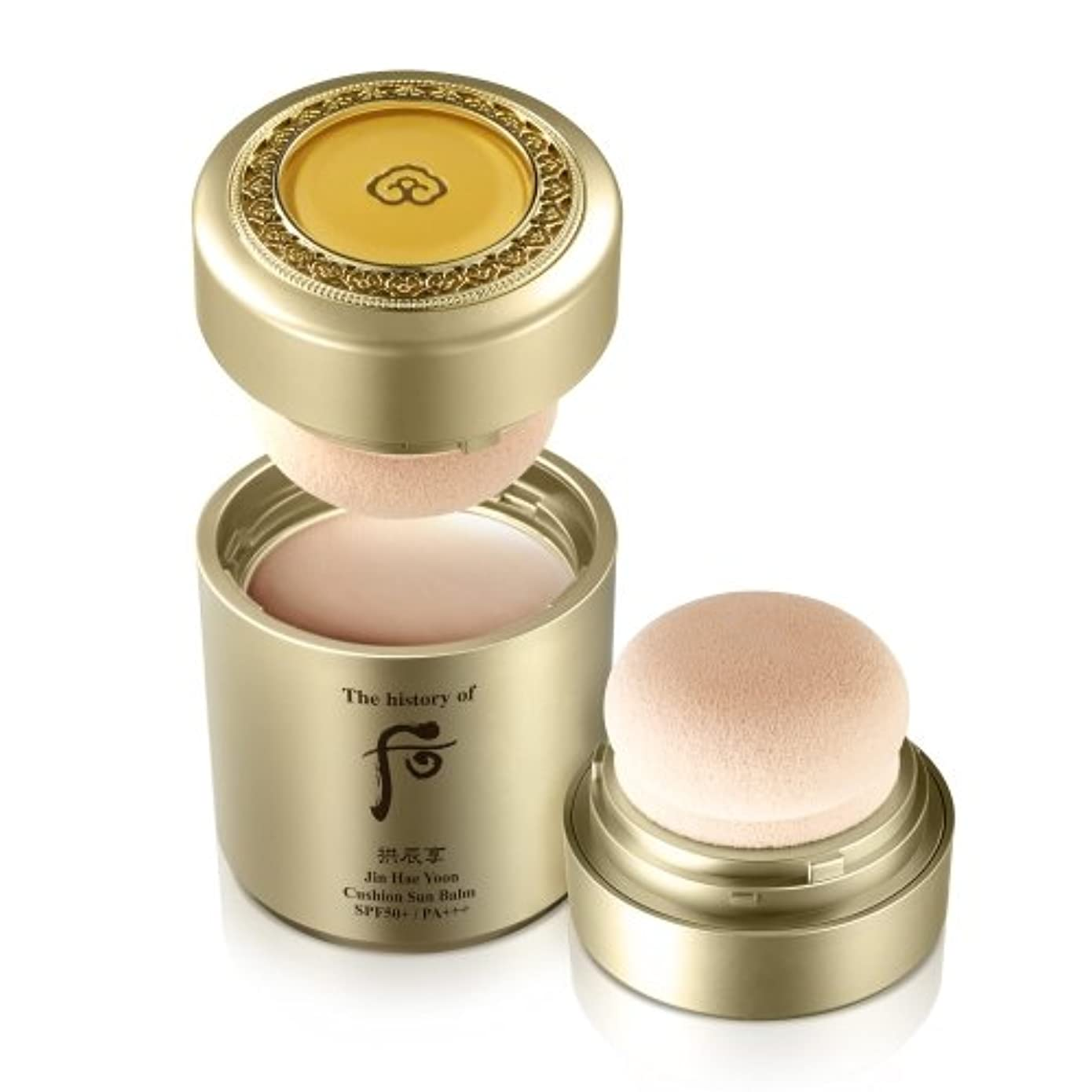 比類なき反逆権限The History of Whoo Gongjinhyang Jin Hae Yoon All in One Cushion Sun Balm (SPF 50+, PA+++)_13g[並行輸入品]
