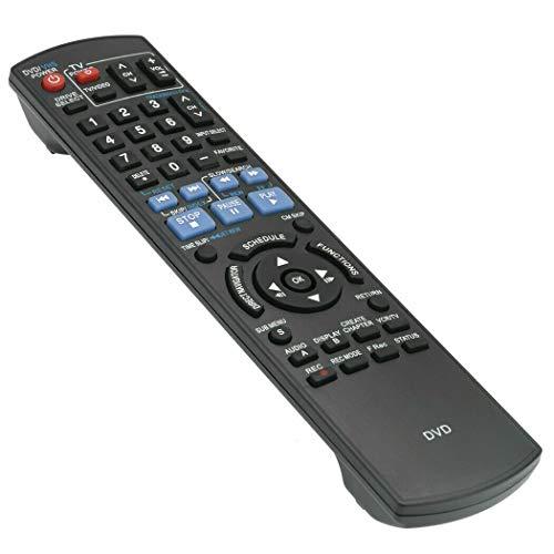 New - Remote Control N2QAYB000197 for Panasonic DMR-EZ485V DMR-EZ37V DMR-EZ48V DMR-EZ485VK