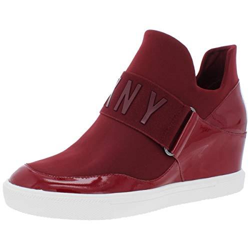 DKNY Frauen Fashion Sneaker Rot Groesse 9 US /40 EU