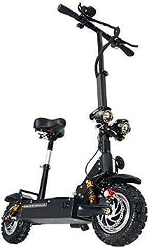 Los Scooters Eléctricos para Adultos, 3200W Batería De Litio Motor 60V 24 AH, Velocidad Máxima 85 Km/H, La Luz Y La Pantalla LED HD