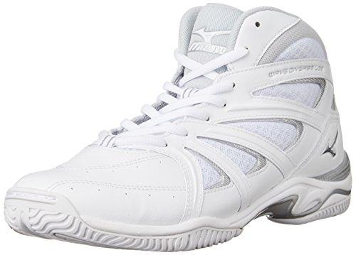 [ミズノ] フィットネスシューズ ウエーブダイバース LG 3 ホワイト 24.0 cm 2E