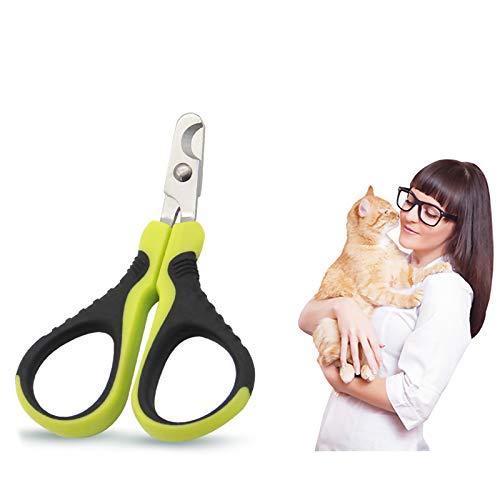 Tijeras profesionales para uñas para perros pequeños, cortaúñas para perros pequeños, cortaúñas para perros, tijeras de garras para perros pequeños, cachorros, gatos, conejos y cobayas.