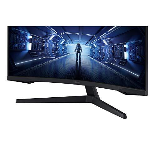 Samsung Odyssey C32G53T 32 Zoll 1000R Curved Gaming Monitor mit 2560x1440p Auflösung, 144hz Bildwiederholrate, 1ms Reaktionszeit - 9