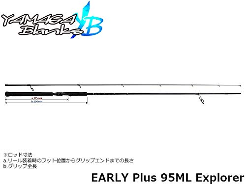 ヤマガブランクス(YAMAGA Blanks) EARLY Plus 95ML Explorer[エクスプローラー]