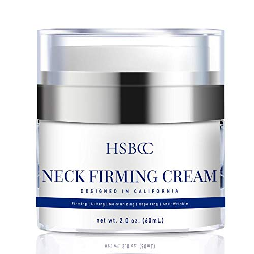 HSBCC Neck Firming Cream with Peptides,Neck Cream,Neck Moisturizer Cream,Anti Wrinkle Anti Aging Neck Lifting Cream for Neck, Advanced Stem Cell + Collagen Formula For Tightening & Lifting Sagging Ski