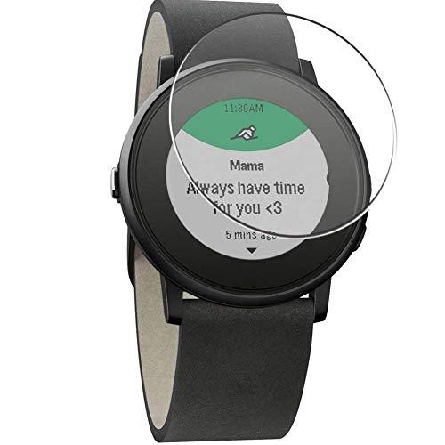 Vaxson 4 Stück Schutzfolie, kompatibel mit Pebble Time Ro&, Bildschirmschutzfolie TPU Folie [nicht Panzerglas]
