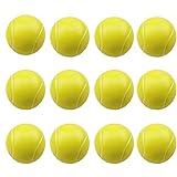 12 pezzi Palline da Tennis in Morbida, Toys-Palla di Spugna per Bambini, Set di Palline da Golf in Schiuma, per bambini e adulti giocattoli novità per la festa