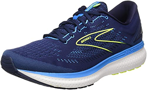 Brooks Glycerin 19, Scarpe da Corsa Uomo, Navy/Blue/Nightlife, 45 EU