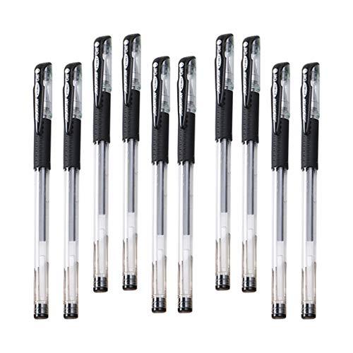 T TOOYFUL Rollerball Stifte Fine Point Kugelschreiber für Büro 0,5 Mm - Schwarz, 15cm