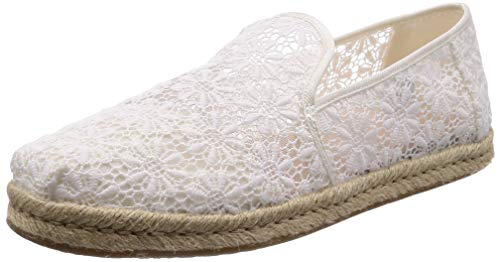 TOMS womens Deconstructed Alpargata Oxford, Natural, 7.5 US