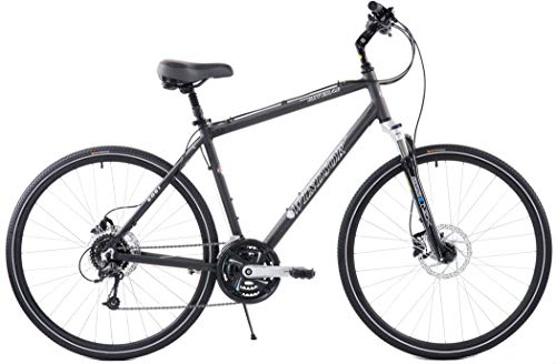 Best Price! Windsor Rover 4.0 Hybrid 700c Comfort Bike Deore 24 Speed with Suspension Fork Hydraulic...