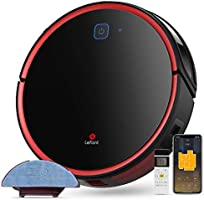 Lefant Robot Vacuum Cleaner with Mop, Robotic Vacuum, 2200Pa Suction, Self-Charging, Works with Google/Alexa/Wi-Fi,...