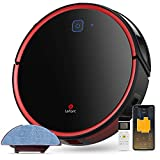 Lefant Robot Vacuum Cleaner Mop 2200pa Auto Robotic Vacuumms, Brushless Suction for Pet Hair, Wi-Fi/APP/Alexa, Super Quiet Slim, Self-Charging, for Hard Floor&Low Pile Carpet, T700