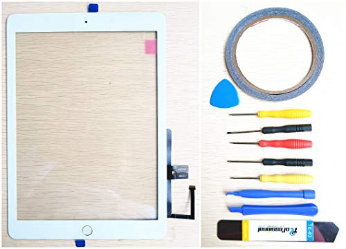 New Replacement Parts ForiPad 7 7th 2019 A1893 A1954 Glass Touch Screen Digitizer White