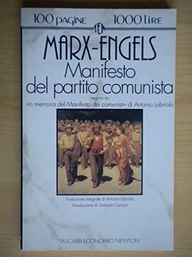 Manifesto del Partito Comunista-In memoria del Manifesto dei comunisti (Tascabili economici Newton)