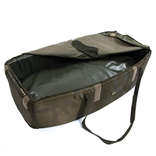 Sonik grote afhakmat SK-TEK Unhooking Cradle groen - drijvende en opvouwbare afhakmat met transporttas en handgrepen
