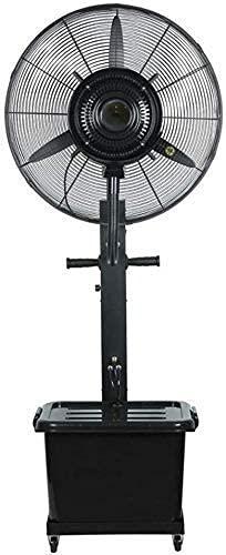 GONGFF Ventilador de refrigeración de Ahorro de energía para el hogar - Ventilador de Suelo Ventilador de refrigeración Swing Plus Water Ventilador multifunción de Alta Potencia