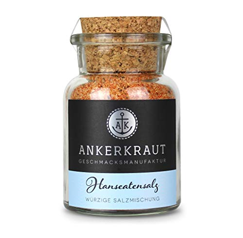 Ankerkraut Hanseatensalz, 140g im Korkenglas