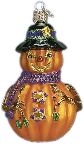 Old World Christmas MR MISTER JACK O LANTERN Blown Glass Ornament Mercks 26034