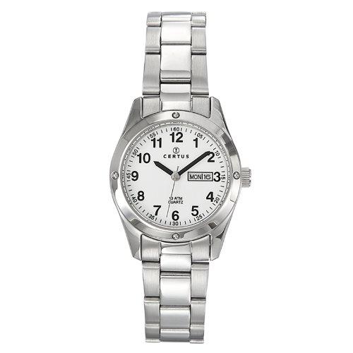 Certus 641330 - Orologio da polso donna, acciaio inox, colore: argento