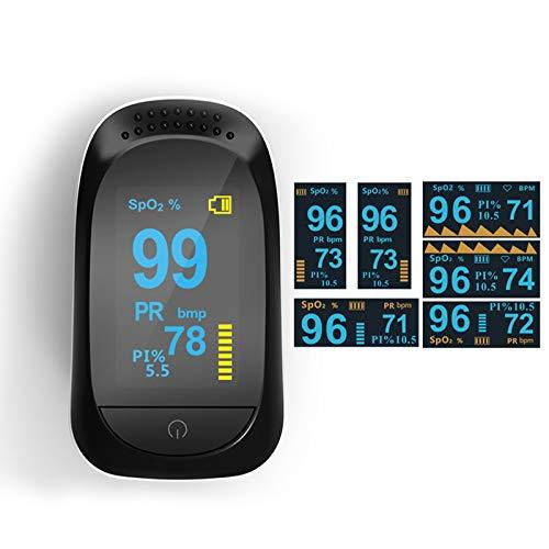 OLED Monitor Sp02-Werte Finger Pulsoximeter Tüv Süd geprüfter Zertifikate Messgerät Sauerstoffsättigung