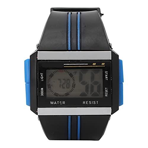 Reloj Electrónico Resistente Al Agua, con Modos De Hora Dual Lámpara Diseño De Apariencia De Moda Reloj Deportivo Digital para Hombres para Niños