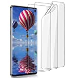 LELANG Screen Protector for Galaxy S10, 3 Pack Designed for Fingerprints Self Healing Easy to Install HD Soft Flexible TPU Film for Samsung Galaxy S10