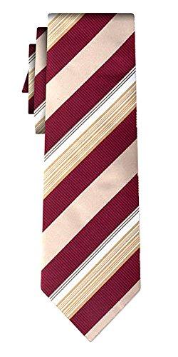Cravate rayée tex stripe plus, burg gold