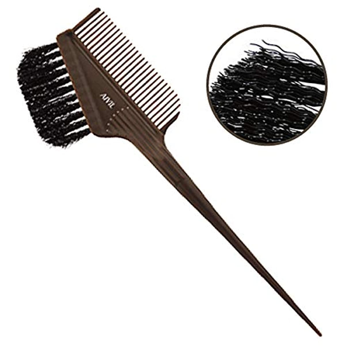 アクティブシンプルさ構成員アイビル ヘアダイブラシ バトン ブラウン ウェーブ毛 刷毛/カラー剤/毛染めブラシ AIVIL