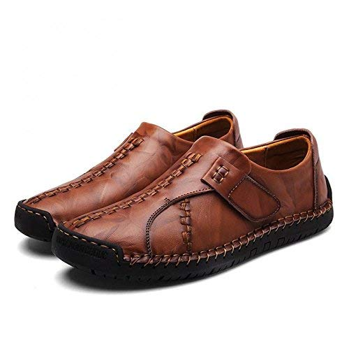 [イフユ] スリッポン メンズ ローファー 本革(牛革) 革靴 カジュアルシューズ ドライビングシューズ フラット 通気 軽量 滑り止め 紳士靴 ファッション おしゃれ 人気 柔らか