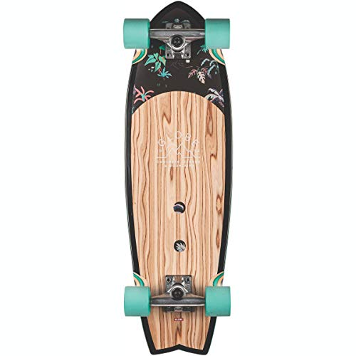 GLOBE shaka > skateboards > cruiser boards Sun City - Olivewood/Neon Jungle 30""