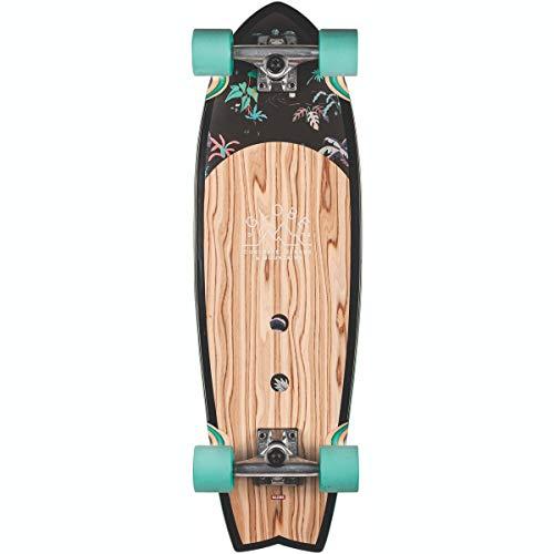"""GLOBE shaka > skateboards > cruiser boards Sun City - Olivewood/Neon Jungle 30\"""""""