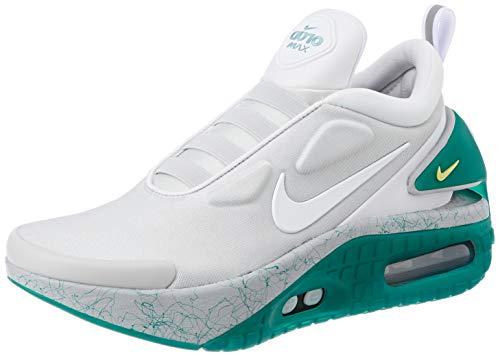 Nike Adapt Auto MAX, Zapatillas Deportivas Hombre, Jetstream White Radiant Emerald, 42.5 EU