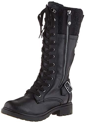 Tamaris Damen 1-1-26608-23 Hohe Stiefel, Schwarz (Black Comb 98), 37 EU
