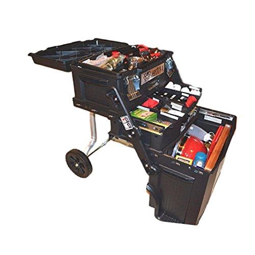 Mobile Mechanic Tool Box Rolling Bench Organizer Chest Cart Work Center Cabinet Drawer Wheels & eBook