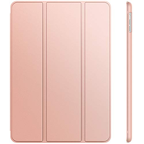 JETech Case for iPad Air 1st Edition (NOT for iPad Air 2), Smart Cover Auto Wake/Sleep, Rose Gold