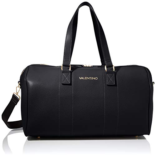 Valentino Bags Womens Superman Hand DUFFER Bag, Nero, one Size