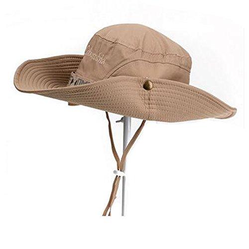 Black Temptation Chapeau de Soleil à Larges Anneaux pour Homme Chapeau de pêcheur Chapeaux d'été pour Camping de Voyage