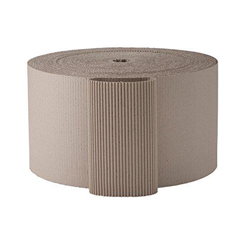 1 rotolo di cartone ondulato grigio, 30 cm di larghezza, 70 metri lineari [forniture per ufficio e cancelleria ]