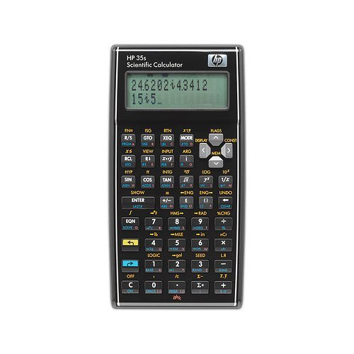 HP 35s Scientific Calculator calcolatrice