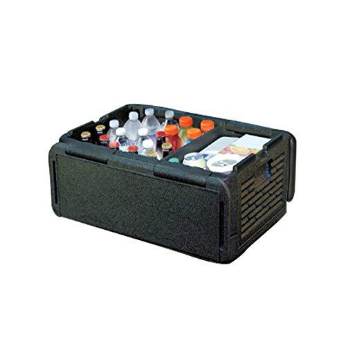 DHXX Startseite 35L tragbare Größe Auto-Kühlraum Auto-Innenraum Kühlschrank Getränk, Speisen Kühler Wärmer Box for Auto Outdoor-Camping-Picknick