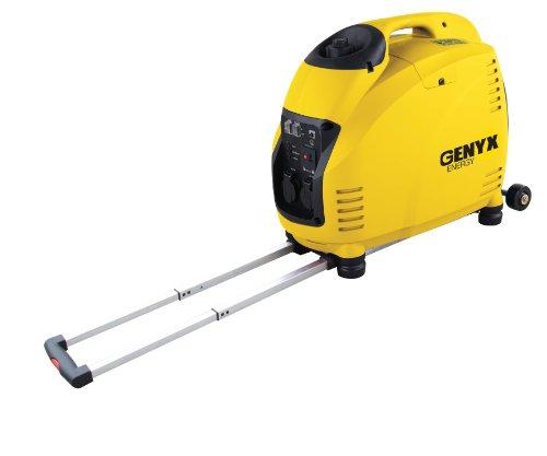 Genyx G4000IRS Generador portátil insonorizado, 3000 W, amarillo