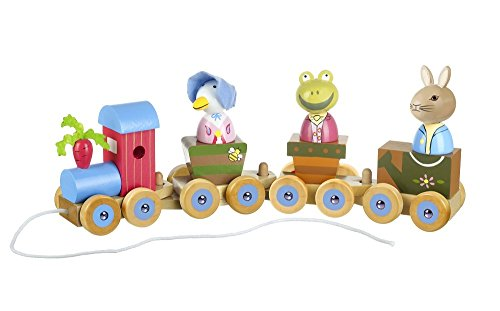 Orange Tree Toys Puzzle Train Peter Rabbit et ses amis - Version Anglaise