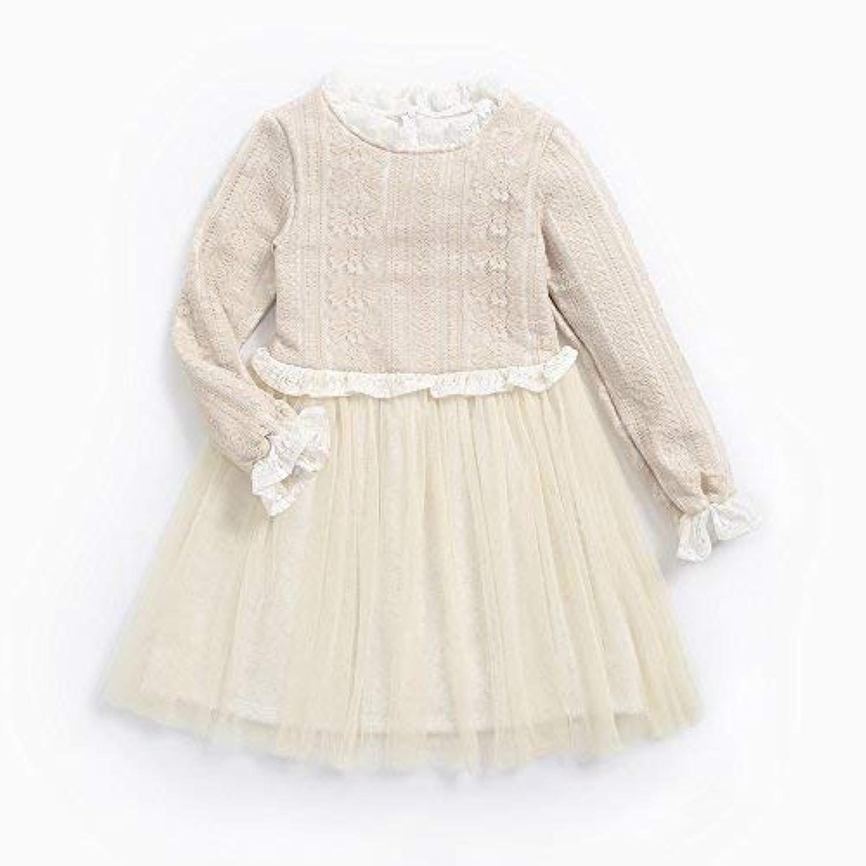 junliuTT プリンセス チュチュ 女の子 ドレス レース コットン 冬 服 パーティー 結婚式 誕生会ドレス11-12歳/ 150cm|KDW7128