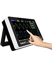 Osciloscopio digital portátil, kit de osciloscopio portátil recargable USB compatible con almacenamiento de forma de onda