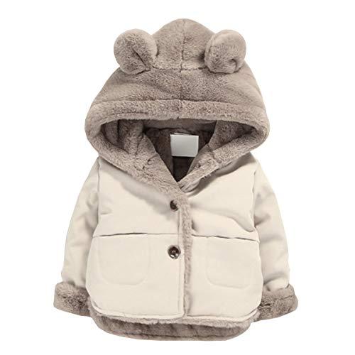 Toddler Fleece Jacket, Warm Cott...